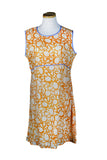 Sleeveless Holi Dress Orange