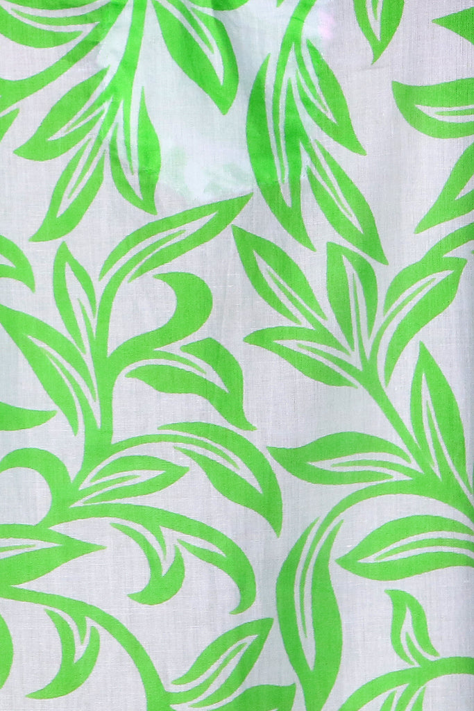 Lime Green Pondicherry KikiSol Tunic