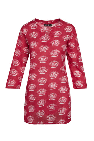 Raspberry Shell KikiSol Tunic