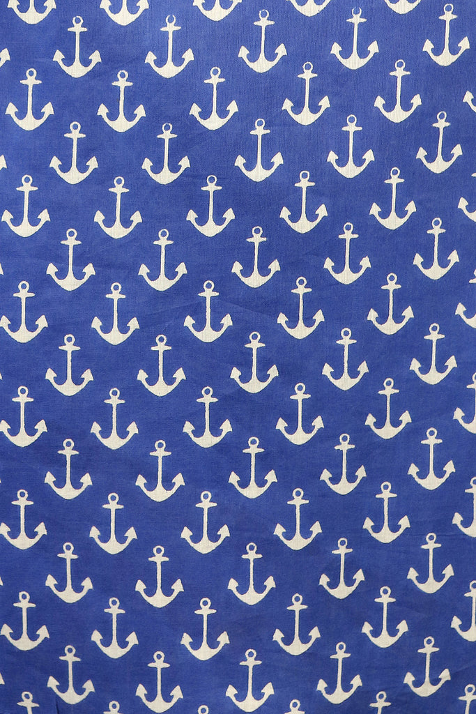 Anchors Coastal Tunic Royal Blue