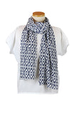 Navy Seeds Scarf