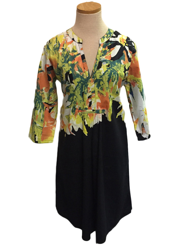 Black Garden Prairie Dress