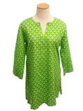 Anchors Coastal Tunic  Green