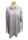 Silver Clouds Over-Sized KikiSol Boyfriend Shirt