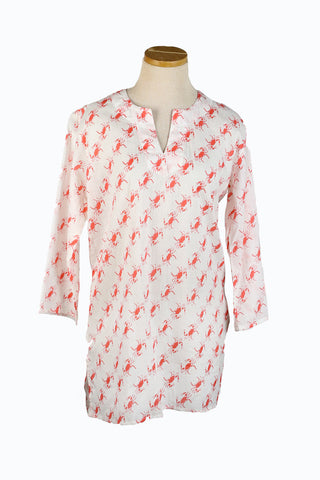 Papaya Crab KikiSol Tunic
