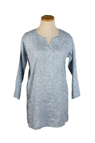 Silver and Gray Cloud KikiSol Tunic
