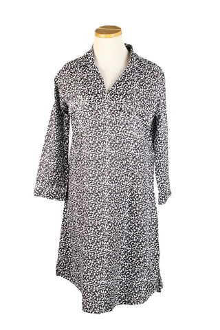 Tunic Dress Black Rain Drops