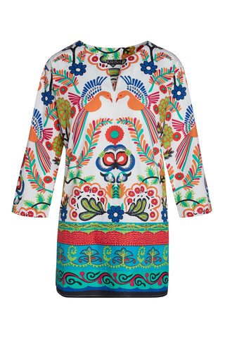 Mexican Birds KikiSol Tunic