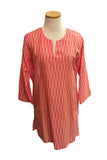 Salmon Fading Dots Tunic
