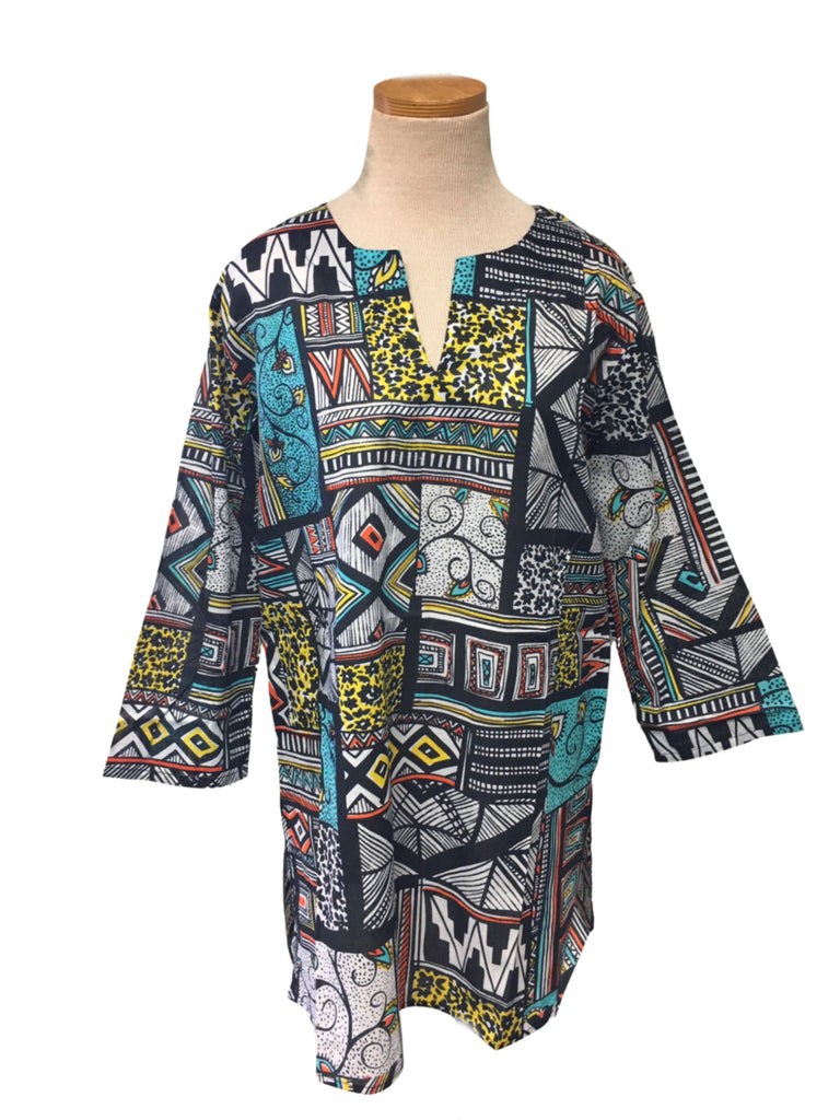 Multi Tribal KikiSol Tunic