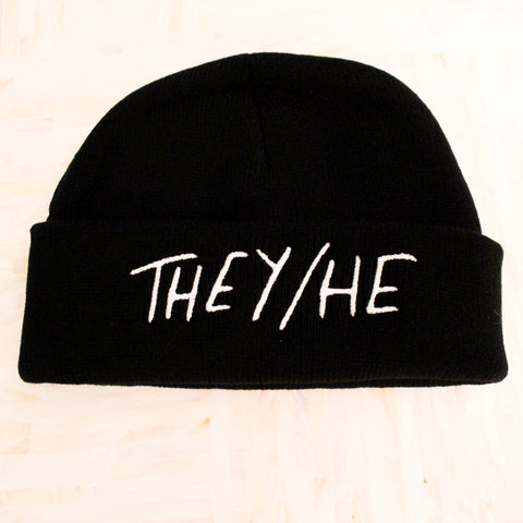 THEY/HE Beanie