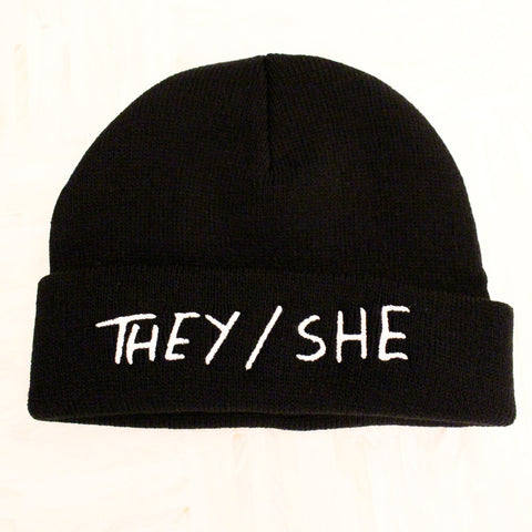 THEY/SHE Beanie