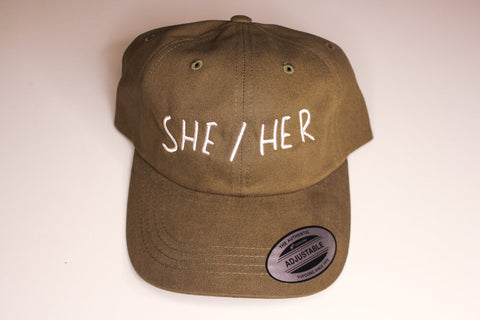 SHE/HER Dad Hat