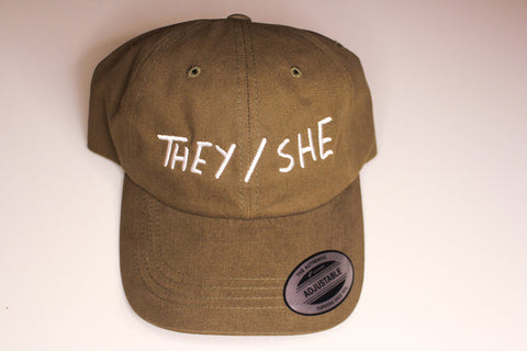 THEY/SHE Dad Hat