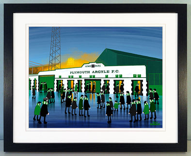 Plymouth Argyle - Home Park - Prints now available