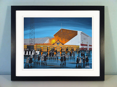 Dunfermline Athletic - East End Park - Prints now available