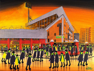 Norwich City - Carrow Road - Prints now available