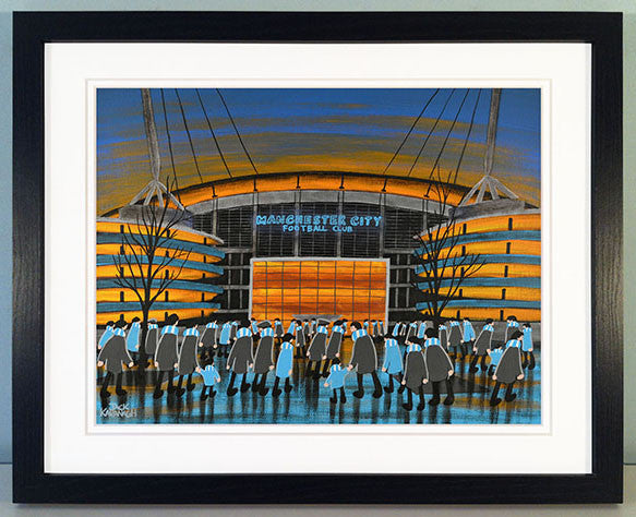 MANCHESTER CITY - City of Manchester Stadium framed print