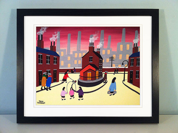 THE BIG HOUSE - framed print