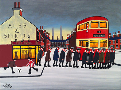 SHEFFIELD UNITED - Going To The Match framed print