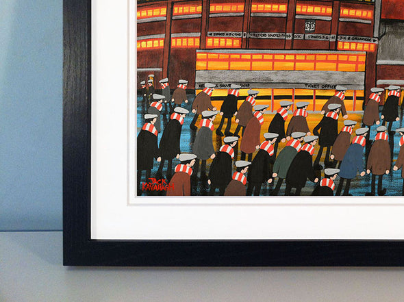 MANCHESTER UNITED - Old Trafford framed print