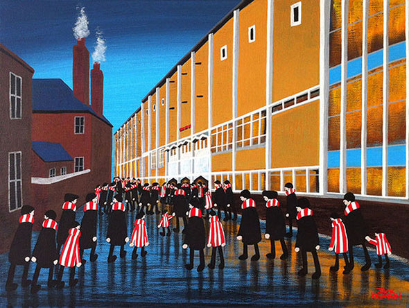 STOKE CITY - Victoria Ground framed print