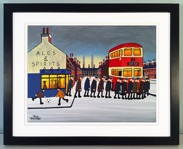 LUTON TOWN - Going To The Match framed print