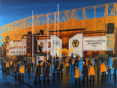 WOLVERHAMPTON WANDERERS - Molineux Stadium framed print