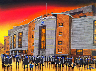 CHELSEA - Stamford Bridge framed print