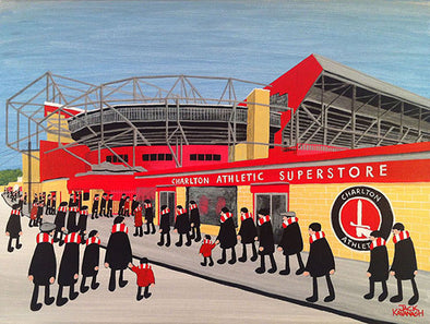 CHARLTON ATHLETIC - The Valley framed print