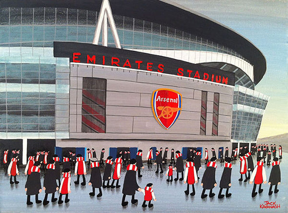 ARSENAL - Emirates Stadium framed print
