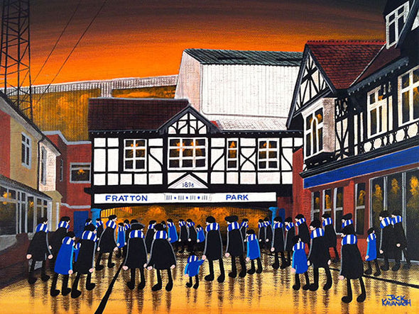 PORTSMOUTH - Fratton Park framed print