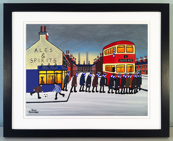 COLCHESTER UNITED - Going To The Match framed print
