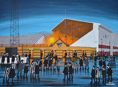 DUNFERMLINE ATHLETIC - East End Park framed print