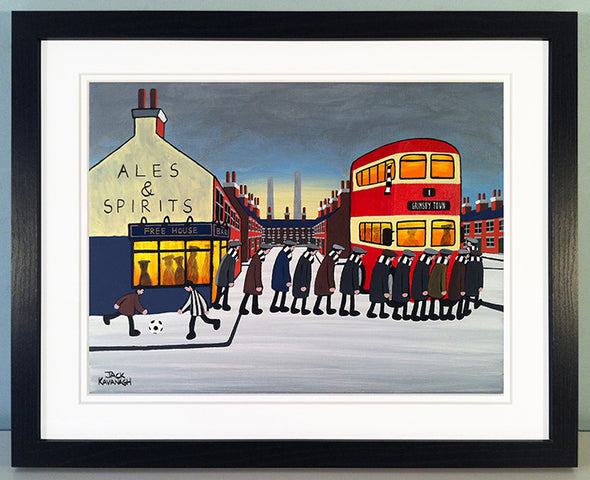 GRIMSBY TOWN - Going To The Match framed print