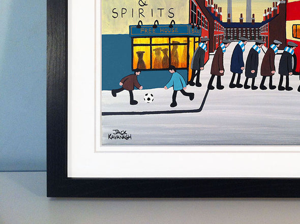 MANCHESTER CITY - Going To The Match framed print