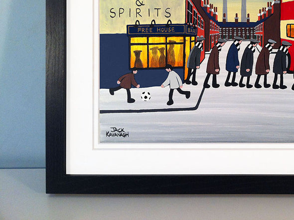 MILTON KEYNES DONS - Going To The Match framed print