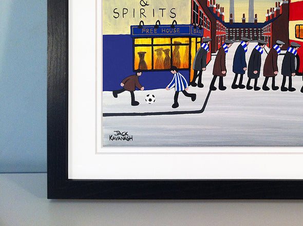 HARTLEPOOL UNITED - Going To The Match framed print