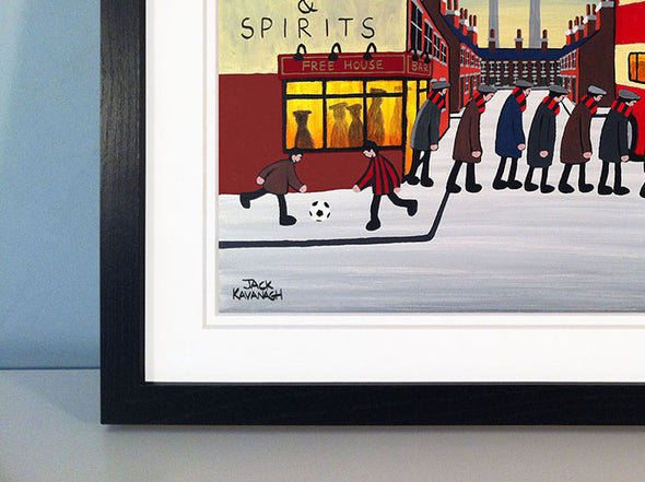 BOURNEMOUTH - Going To The Match framed print