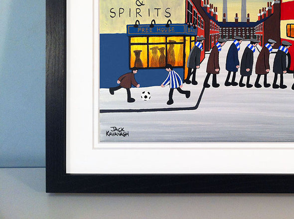 HUDDERSFIELD TOWN - Going To The Match framed print