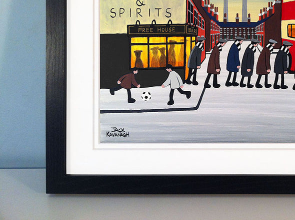 FULHAM - Going To The Match framed print