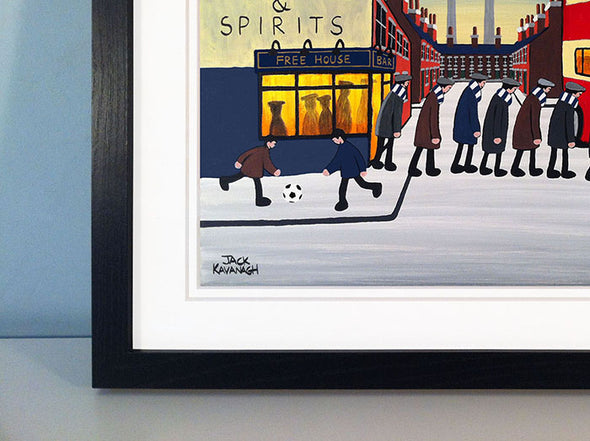 ROSS COUNTY - Going To The Match framed print