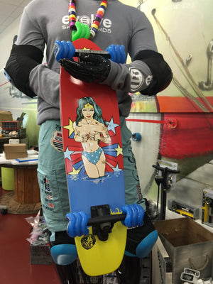 70's Cruiser Ride More Wonder Woman