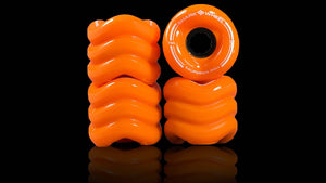 Shark Wheel California Roll 60mm 78a oranges (jeu de 4 roues)