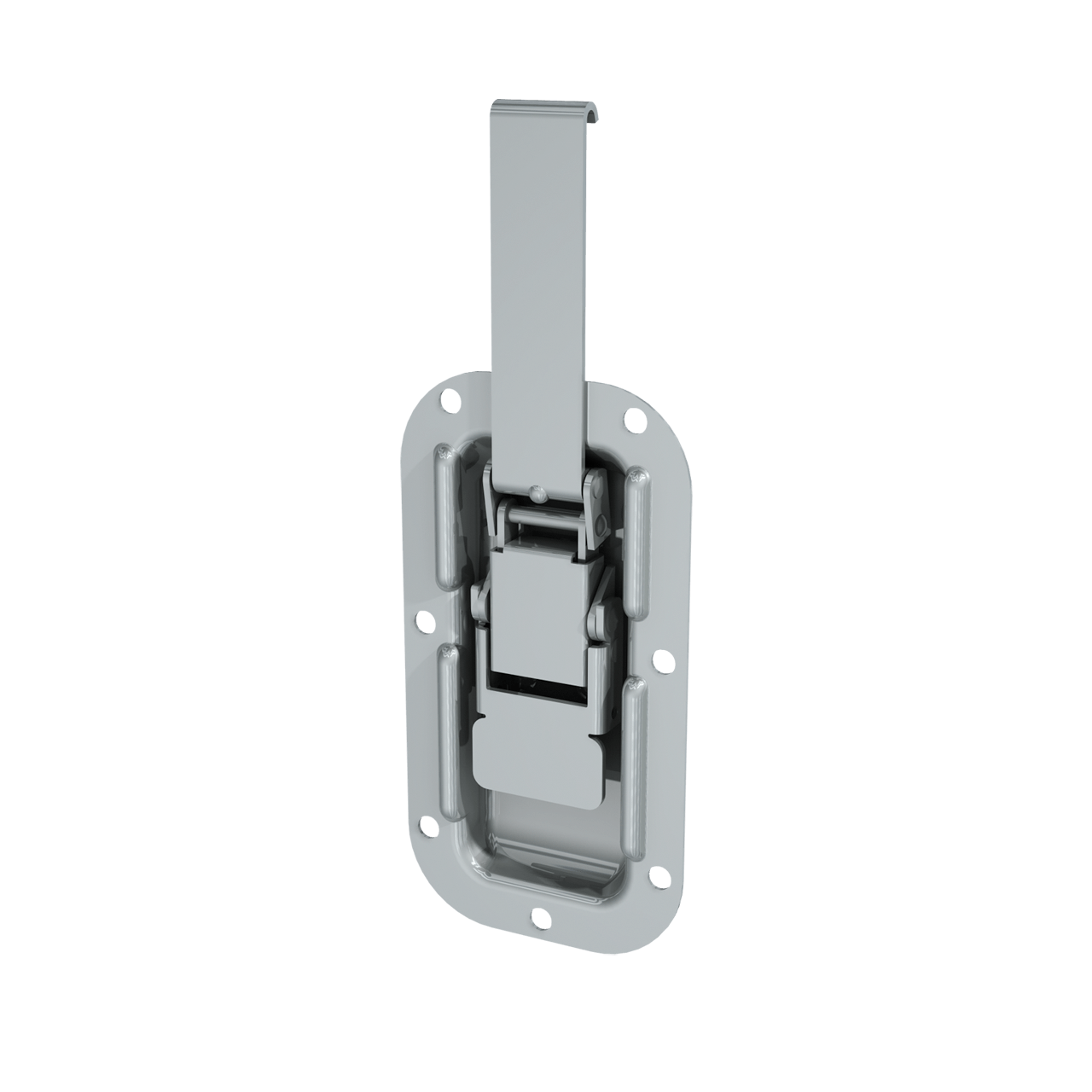 Render of Recessed Lever Operated Drawlatch