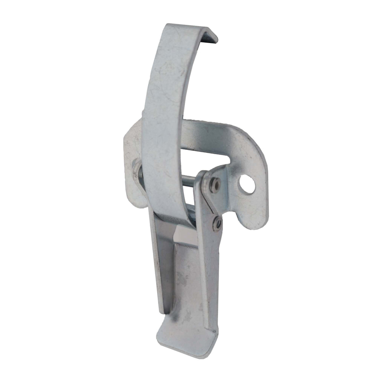 Lever Operated Drawlatch (with flat mounting plate), 3/4 view