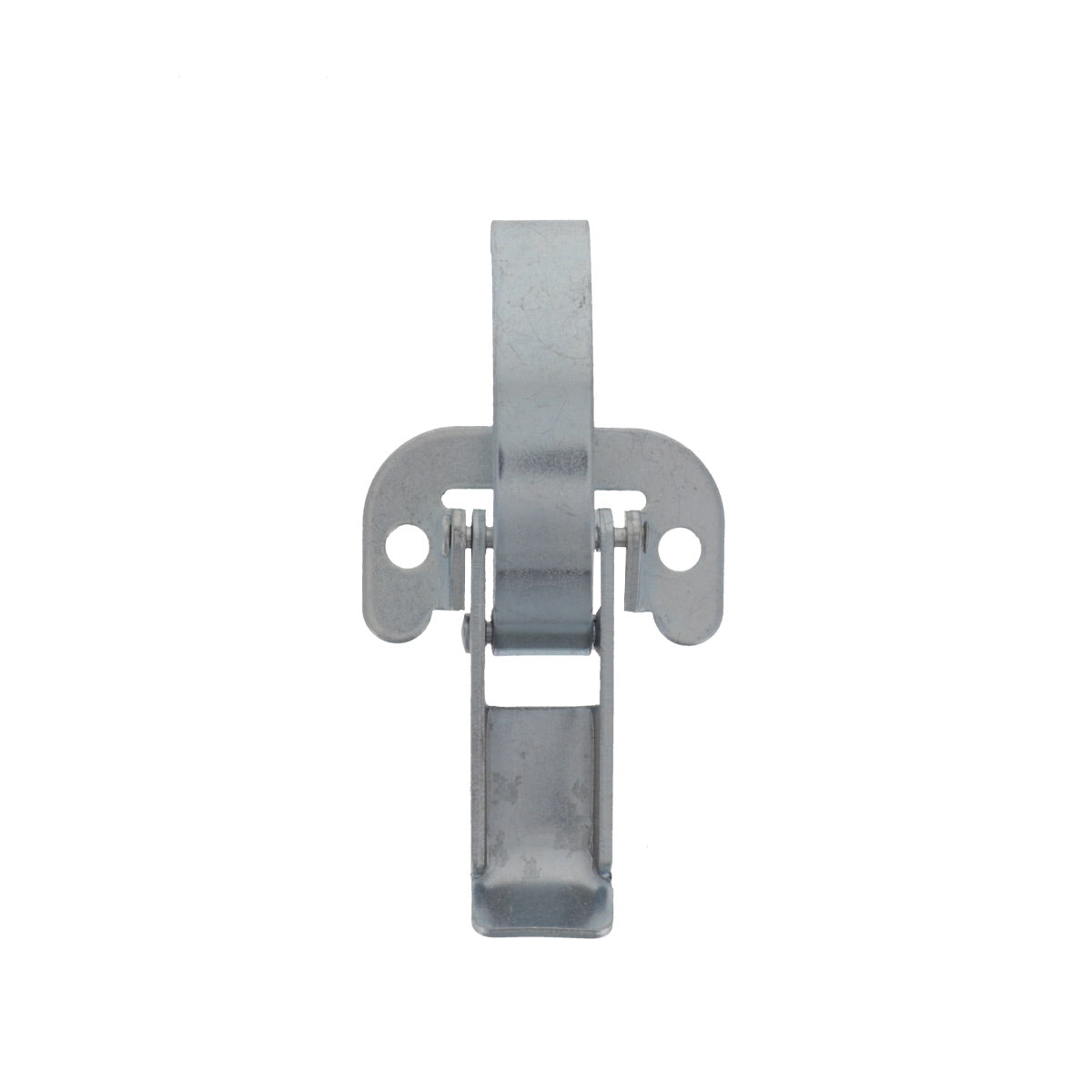 Lever Operated Drawlatch (with flat mounting plate), Front View