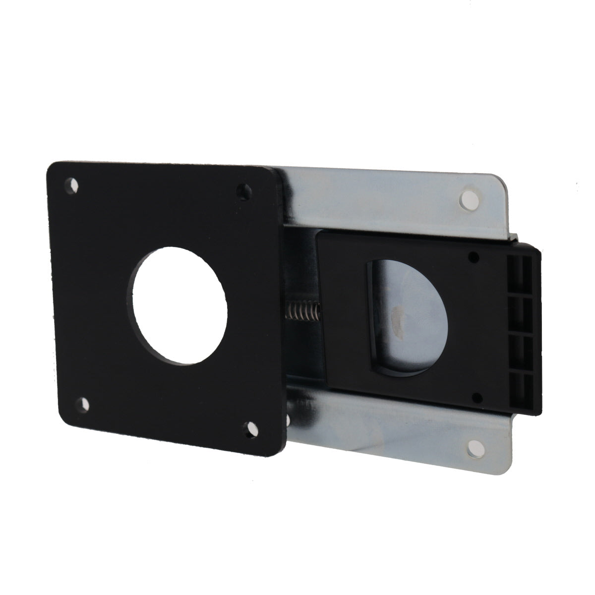 Rear Mount Slam Latch with Spacer, 3/4 view
