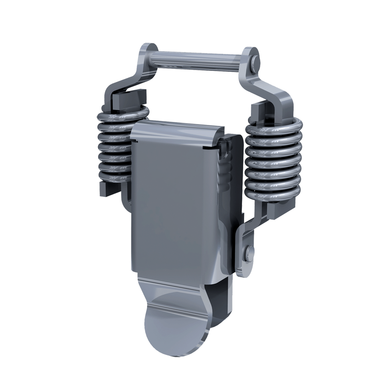 Render of Stainless Steel Compact External Compression Spring Drawlatch