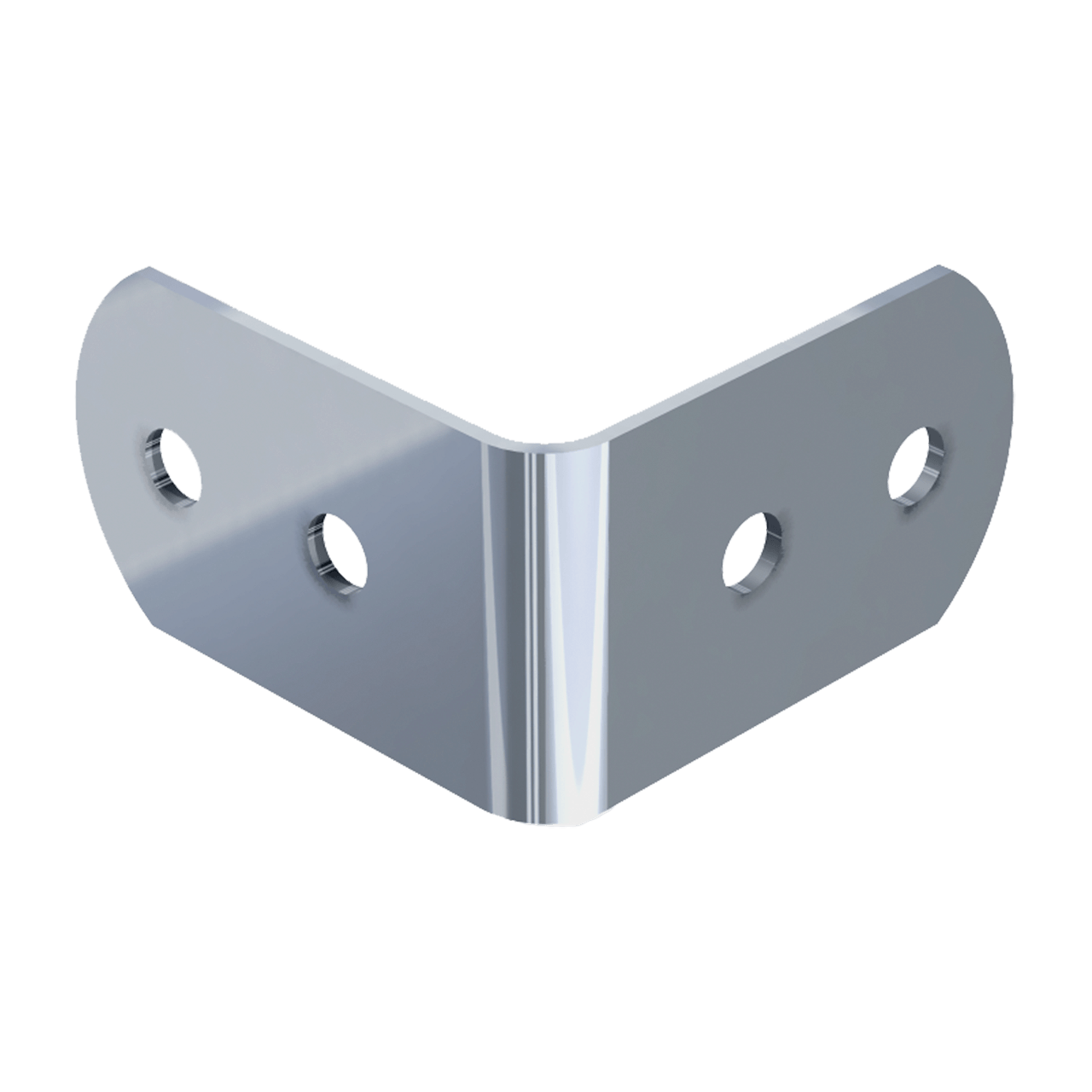 Small Four-Hole Clamp, 3/4 view